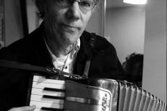 Jan met zijn accordeon